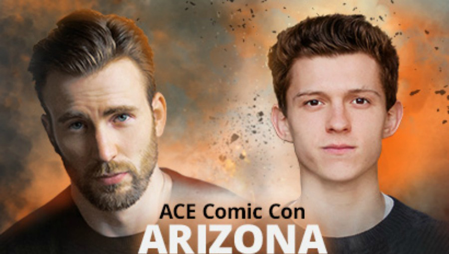 Chris Evans, Sebastian Stan and Tom Holland Join inaugural Ace Comic Con Arizona