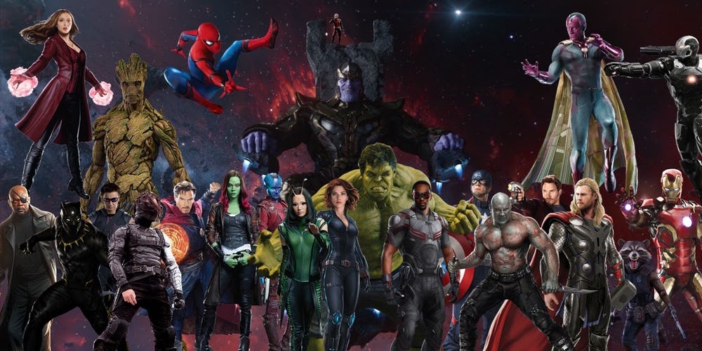 Avengers Cast Teases Massive MCU Photoshoot
