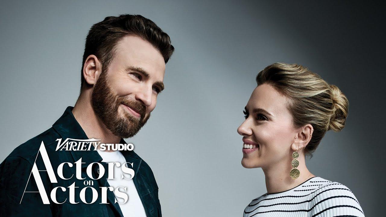 Chris & Scarlett on 'Variety: Actor on Actor'